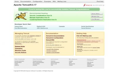 Application on Tomcat Server