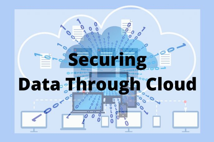 Securing Data Through Cloud